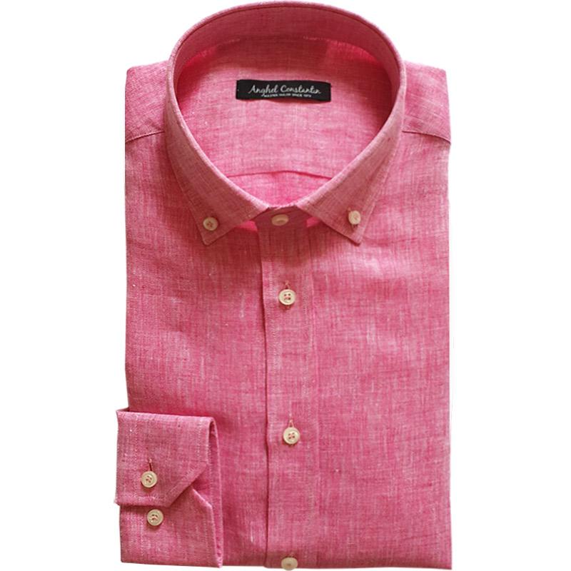 Camasa la comanda de vara din in | Anghel Constantin Tailoring