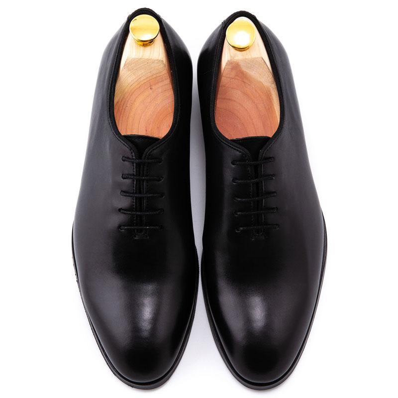 Pantofi negri ceremonie mire | Anghel Constantin Tailoring