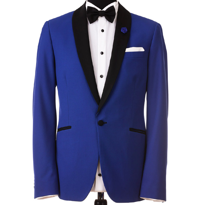Costum de ginere albastru | Anghel Constantin Tailoring