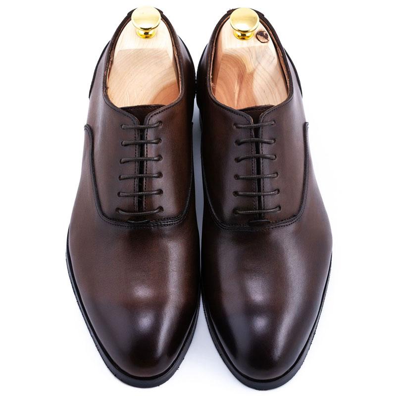 Pantofi barbat maro la comanda| Anghel Constantin Tailoring