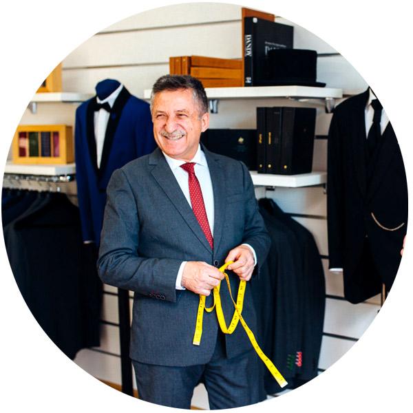 Anghel Constantin, maistru croitor barbati in Bucuresti si Targoviste